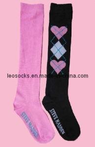 Lady Cotton Stocking Socks (DL-SKT-17) pictures & photos