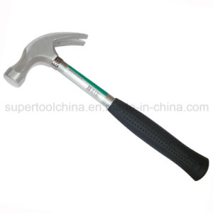 Finely Polished Claw Hammer with Steel Tubular Handle (540502) pictures & photos