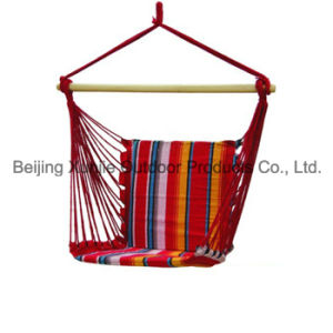 Color Stripe Canvas Swing Chair