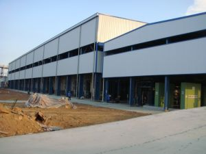 High Technical Standard Steel Structure Workshop /Steel Structure Warehouse/Container House pictures & photos