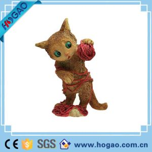 2016 Newest Indoor Decoration Resin Cat Resin Animal Figurine pictures & photos