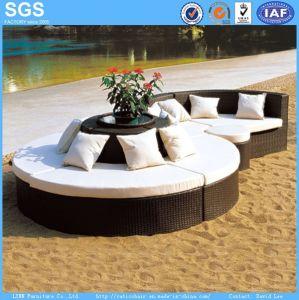 Leisure Furniture OEM Combination Rattan Sofa pictures & photos