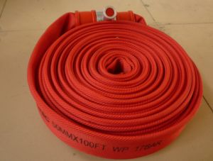 PU Fire Hose with Red Color - 006