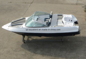 China Aqualand 17feet 5.2m Fiberglass Rib Boat/Sports Bowrider (170) pictures & photos