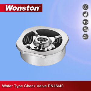 CF8 Wafer Type Check Valve Pn16/40 pictures & photos