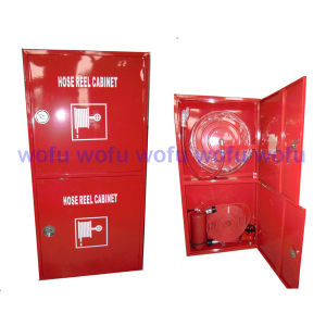 Double Fire Hose Reel Cabinet pictures & photos
