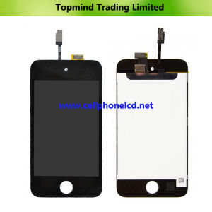 LCD Display with Digitizer Touch Screen for iPod Touch 4 pictures & photos