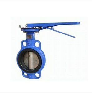 Wafer Type Butterfly Valve (D71X-16) - Manufacturer