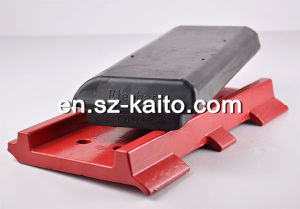300*130 100% Natural Rubber Track Pad for Asphalt Paver pictures & photos