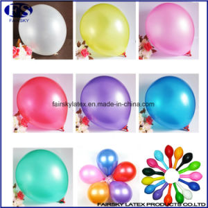 Standard Helium Balloon Round Shaped Latex Pearly Balloon Factory pictures & photos