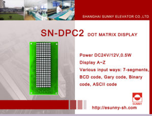 DOT Matrix Display for Elevator (SN-DPC2) pictures & photos