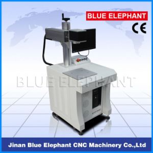 Ele-200 3D Mini Fiber Laser Marking Machine, Portable Metal Laser Printing Machine for Plastic, Stone, Stainless Steel pictures & photos