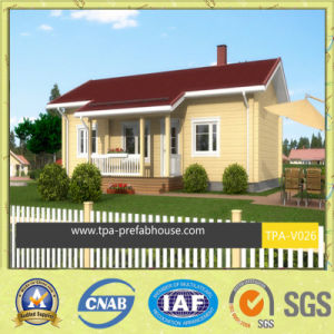 Green Prefab House Design for Small Family pictures & photos