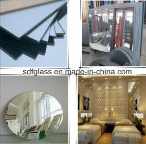 Clear Aluminum and Silver Mirror with Ce. ISO pictures & photos