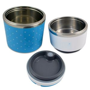 Insulated Stainless Steel Two Tier Bento Lunch Box for Kids and Adults pictures & photos
