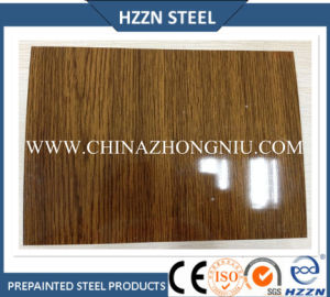 Prime Wooden Texture Color Coated Steel Coil pictures & photos