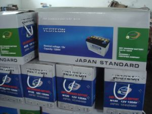 DIN Dry Charged 12V60ah Auto Battery pictures & photos