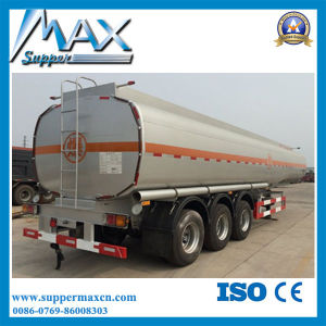 Carbon Steel Box Tank Semi Trailer pictures & photos