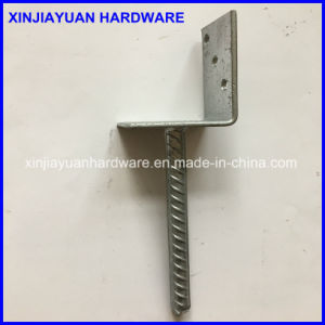 Bolt Down L Shape Concrete Pole Anchor pictures & photos