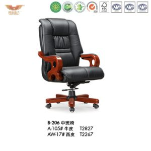 Wooden Office Furniture Executive Chair (B-206) pictures & photos