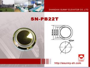 Plastic Elevator Push Button (SN-PB22T) pictures & photos