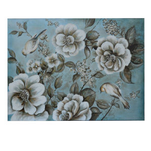 Flowers and Birds Canvas Painting (LH-052000) pictures & photos