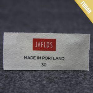 Wholesale Custom Printed Cotton Label pictures & photos