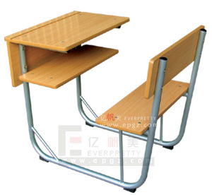 High Quality Student Desk & Bench Chair (GT-33) pictures & photos