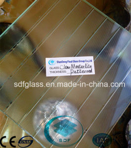 Clear Masterlite Patterned Glass with CE ISO (3-8mm)
