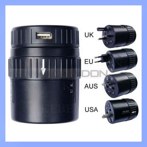 World Universal Travel Adapter with USB Charger Multi Plug Adapter (SDP-231) pictures & photos