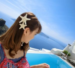 Real Ocean Starfish Hairpins pictures & photos