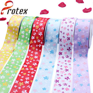 Colourful Butterfly Printed Ribbon pictures & photos
