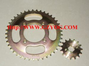 Yog Motorcycle Spare Parts Fxd125 Rear Front Sprockets Kit Cgl pictures & photos