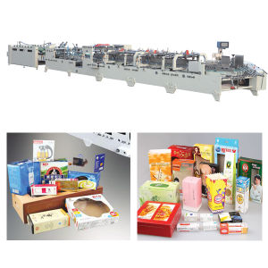 High Speed Automatic Carton Box Folder Gluer Machine pictures & photos