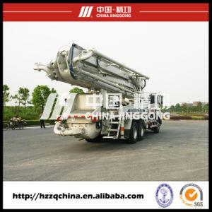 37m Isuzu Truck-Mounted Concrete Delivery Pump (HZZ5270THB) pictures & photos