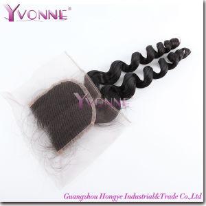 Top Lace Closure 100% Virgin Brazilian Human Hair Closure pictures & photos