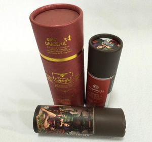 Printing Cardboard Packaging Tubes for Rouges pictures & photos