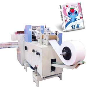 Mini Handkerchief Production Line with Automatic Cutting pictures & photos