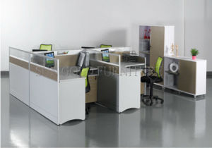 Office Furniture Modern Office Partition/Office Workstation with File Cabinet (SZ-WS150) pictures & photos