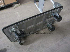 300kgs Capacity Folding Platform Trolley/Hand Pallet Truck pictures & photos