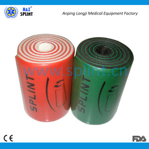 Universal Flexible Roll Splint for Orthopedic Immobilization