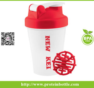 600ml Gym Sport Shaker with Ball pictures & photos
