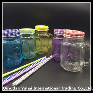 Set Glass Jar with Different Color pictures & photos