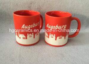 Full Sandblast Ceramic Mug, Football Club Ceramic Mug pictures & photos