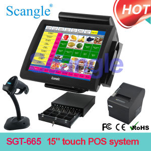 Factory Price! 15 Inch Touch Screen POS System / POS Terminal / POS Computer pictures & photos