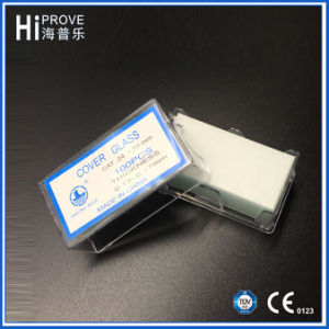Medical Lab Use Microscope Coverslip Cover Glass pictures & photos