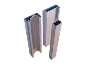 Aluminum Die Casting Pipe Shape Profiles pictures & photos