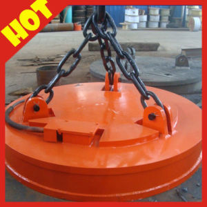 Steel Scraps Lifting Machinery MW Type Electric Magnet for Crane pictures & photos