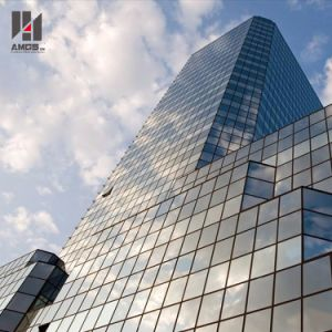 Factory Direct Sales Engineering Aluminum Frame Glass Curtain Wall pictures & photos
