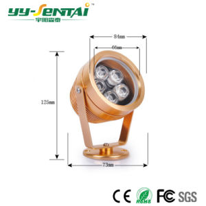 Outdoor LED Lighting Super Bright Small Spotlight IP65 pictures & photos